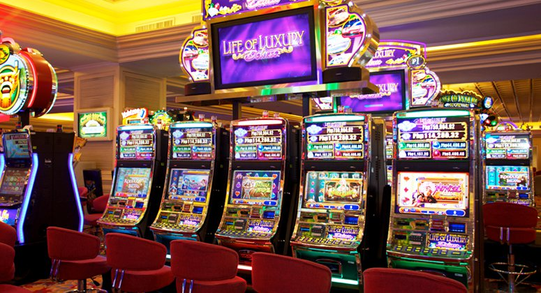 Basic functions of a slot machine